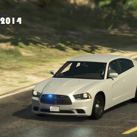 Dodge Charger 2014 под прикрытием для GTA 5