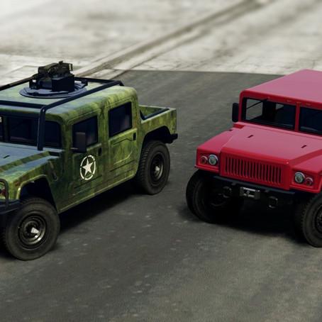 Patriot Классический и Военный для GTA 5