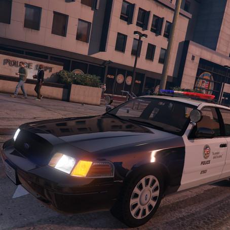 1999 Ford Crown Victoria LAPD для GTA 5