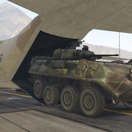 LAV-25 Бронетранспортёр для GTA 5