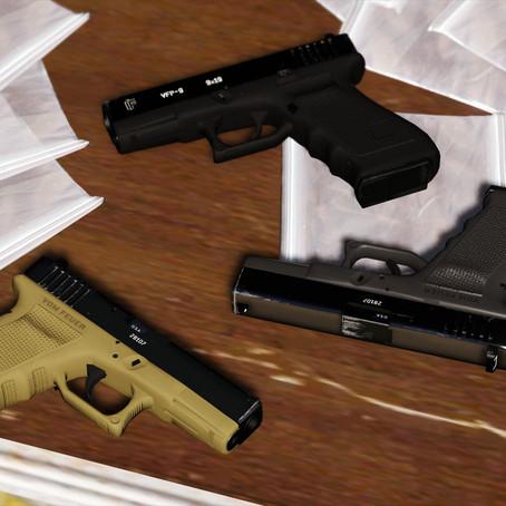 Vom Feuer Combat Pistol (Glock) для GTA 5