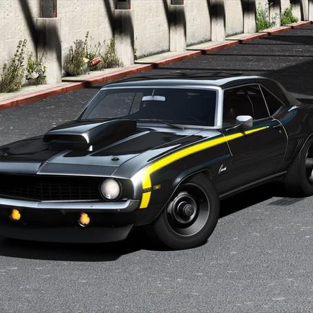 Chevrolet Camaro SS '69 для GTA 5