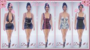 Пак платьев для женского персонажа для GTA 5