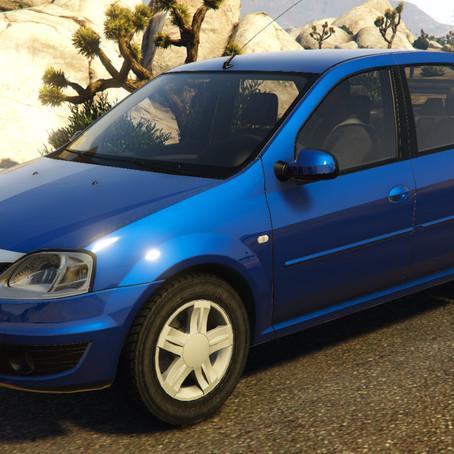 Dacia (Renault) Logan для GTA 5