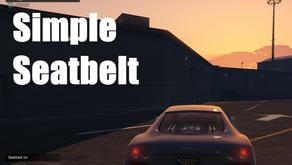 Простой ремень безопасности для GTA 5