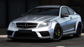 2012 Mercedes-Benz C63 AMG Coupe Black Series для GTA 5