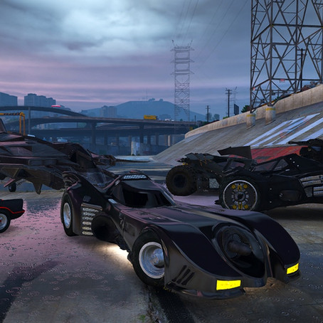 Пак транспорта Бэтмена (9) для GTA 5