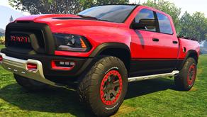 2017 Dodge RAM 1500 Rebel TRX Concept  для GTA 5