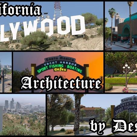 Реальная архитектура Калифорнии для GTA V