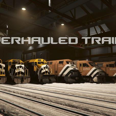 Переработанные поезда для GTA V