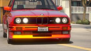 BMW M3 E30 1990 для GTA 5