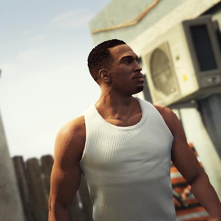 HD Карл Джонсон (CJ) для GTA 5