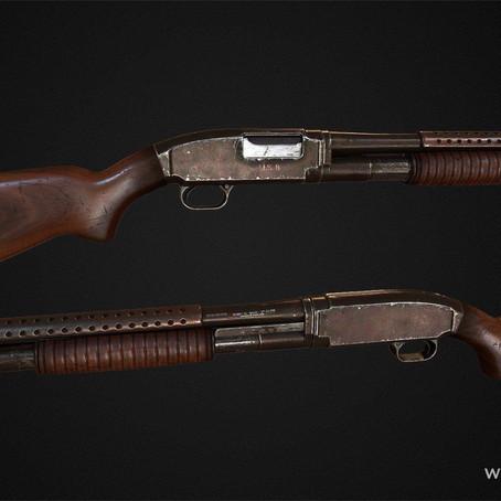 Winchester Model 12 для GTA 5