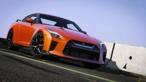 2017 Nissan GTR для GTA 5