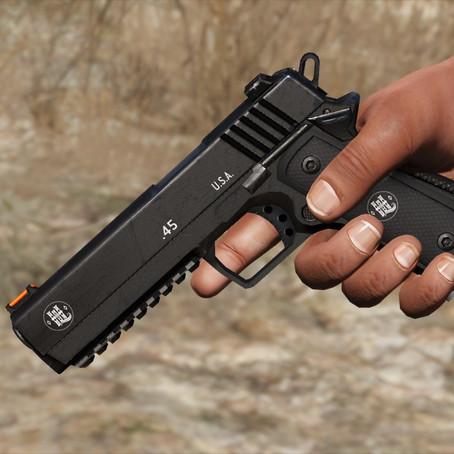Hawk & Little .45 Pistol (Изменённый тяжёлый пистолет) для GTA 5