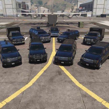 Пак машин секретной службы для GTA 5