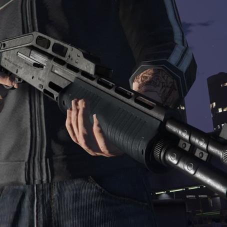 Сложенный боевой дробовик для GTA 5