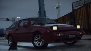 Mitsubishi Starion ESI-R '88 для GTA 5