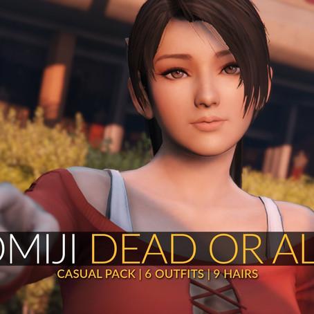 Момиджи из Dead Or Alive 5 для GTA V