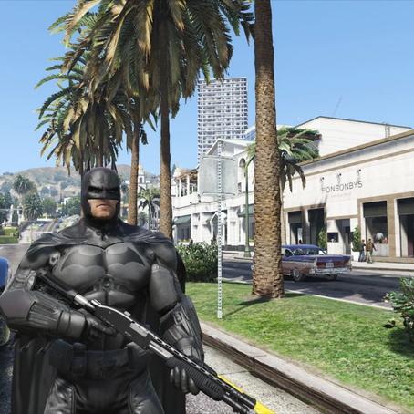 Бэтмен для GTA 5