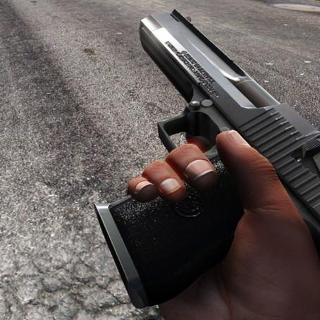 Desert Eagle (чёрный и хромированный) для GTA 5