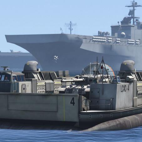 US Navy LCAC СНВП для GTA 5
