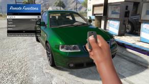 Дистанционное управление автомобилем для GTA 5