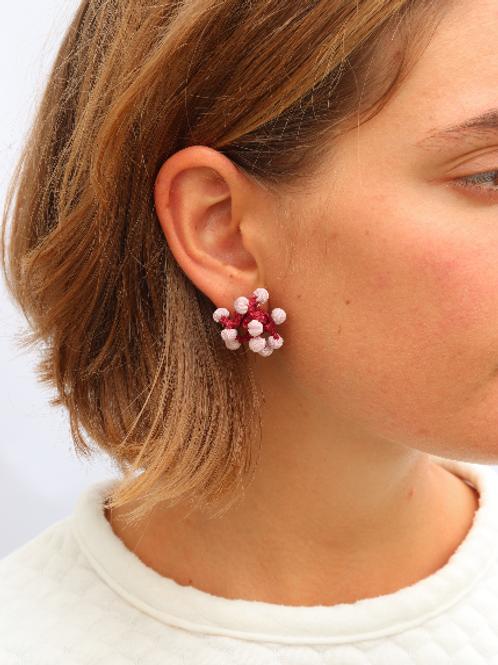 Pendientes Coral / Coral earring