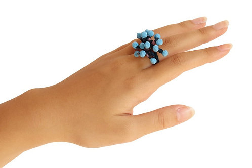 Anillo Coral / Coral ring