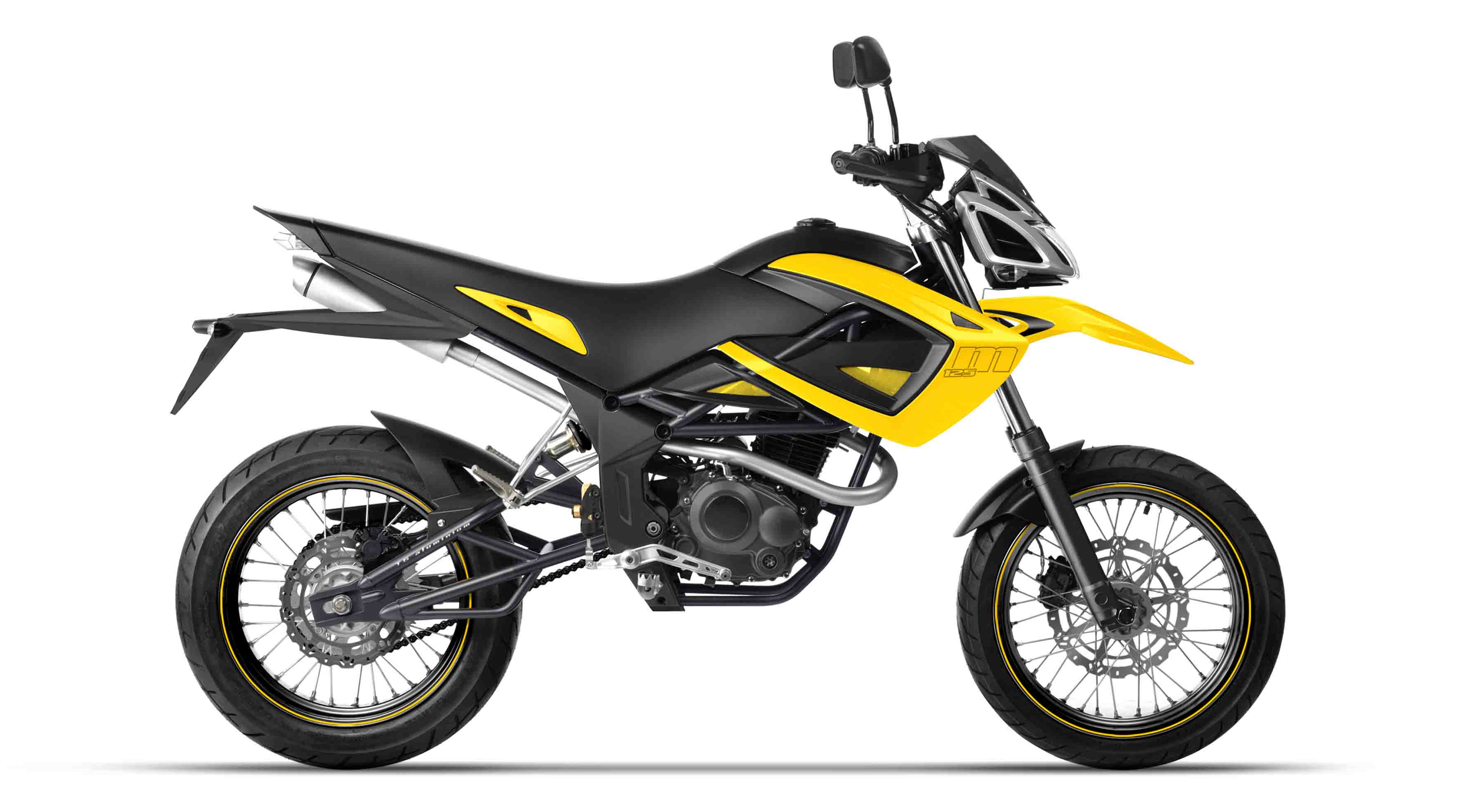 Megelli Motard M - Yellow