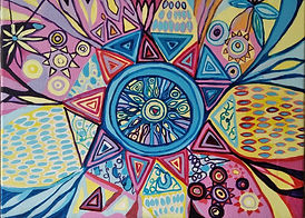 Mandala od Lucie Slaninové