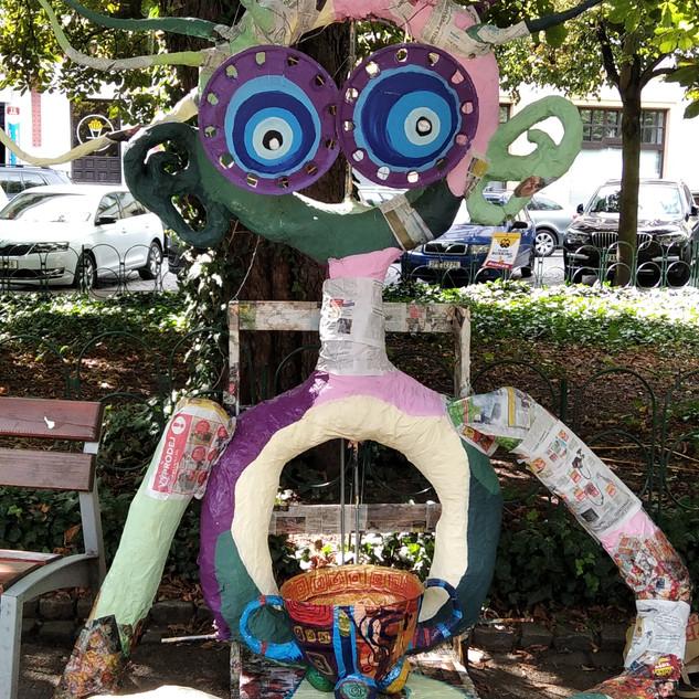 Velký ART na Pilsen busking festu 2020