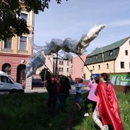 První zátěžový let draka Zdeňky Svobodové