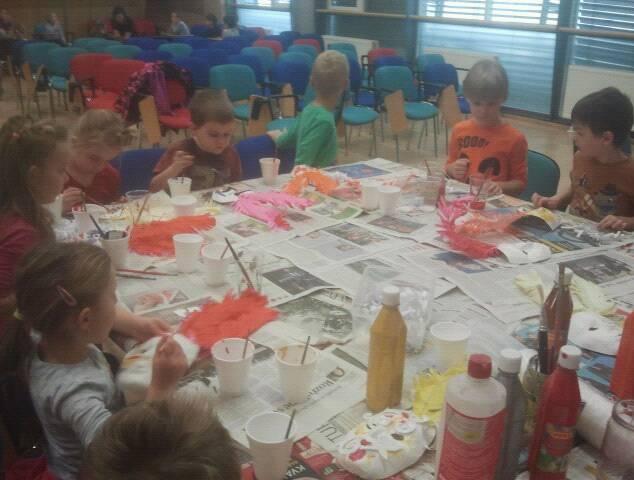 Tvroba masek ve stylu Baroko/předškolní děti