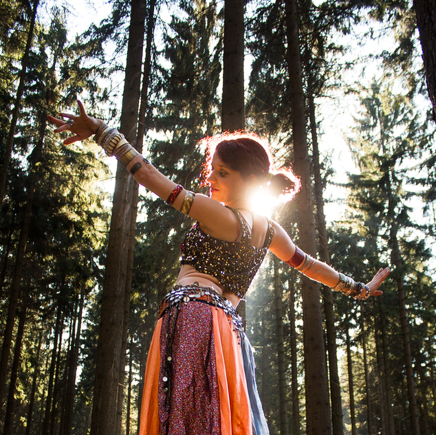 Tanec a joga s Lucií