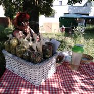 21.6.2019 v Resslově parku najdete též bylinkový krámek ...