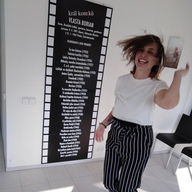 Divadelnění s Alenou Śtěpánvou
