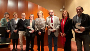 Mercè Calafell, CERECUSOR i Santiago Frigola, guardonats amb el III Premi LSC de Foment de la Llengu