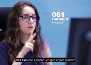 El Servei 061 CatSalut Respon accessible des d'ara també en llengua de signes catalana (LSC)
