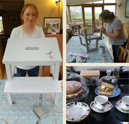 One to one furniture painting workshop