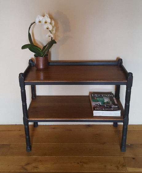 Console painted with Frenchic Loof and sealed with Frenchic Browning Wax