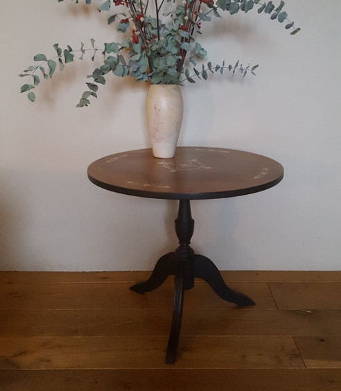 Occasional table painted with Frenchic Loof