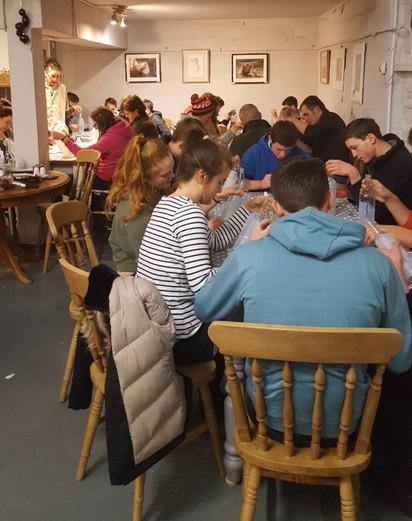 Group YFA decoupage workshop