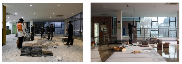 180 Seoul Art Space Hongeun 2nd floor repairwork Art Project Exhibition & Performance ; surpported Seoul Culture Foundation