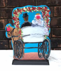 French Quarter Wedding Carriage