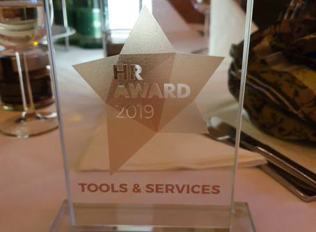 WIR HABEN GEWONNEN!  HR-Award in Bronze!