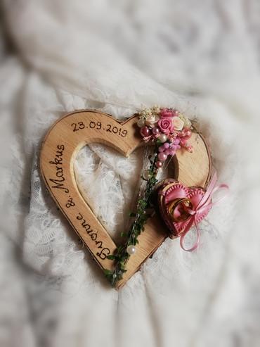 Ringkissen Herz