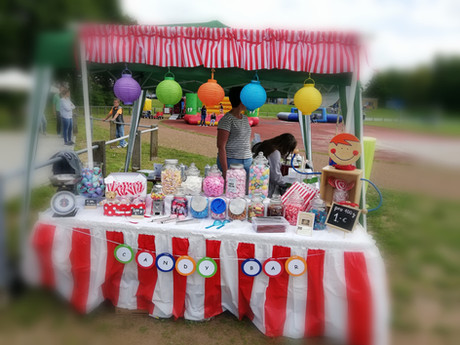 Candy Bar - sweet table - Benefiz for Ki