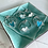 Thumbnail: Sea Glass Heart Bracelets