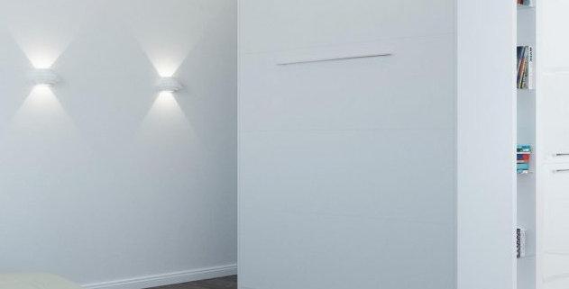 Smartbett opklapbed verticaal 160 x 200 wit